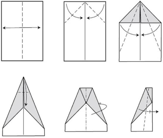 Как сделать конверт из прямоугольного к 515